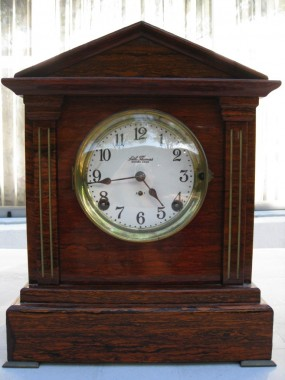 Seth Thomas SONORA Chime No. 5 Antique Cabinet Clock