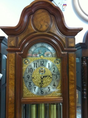 Herschede Grandfather Clock Christopher Columbus Model 106