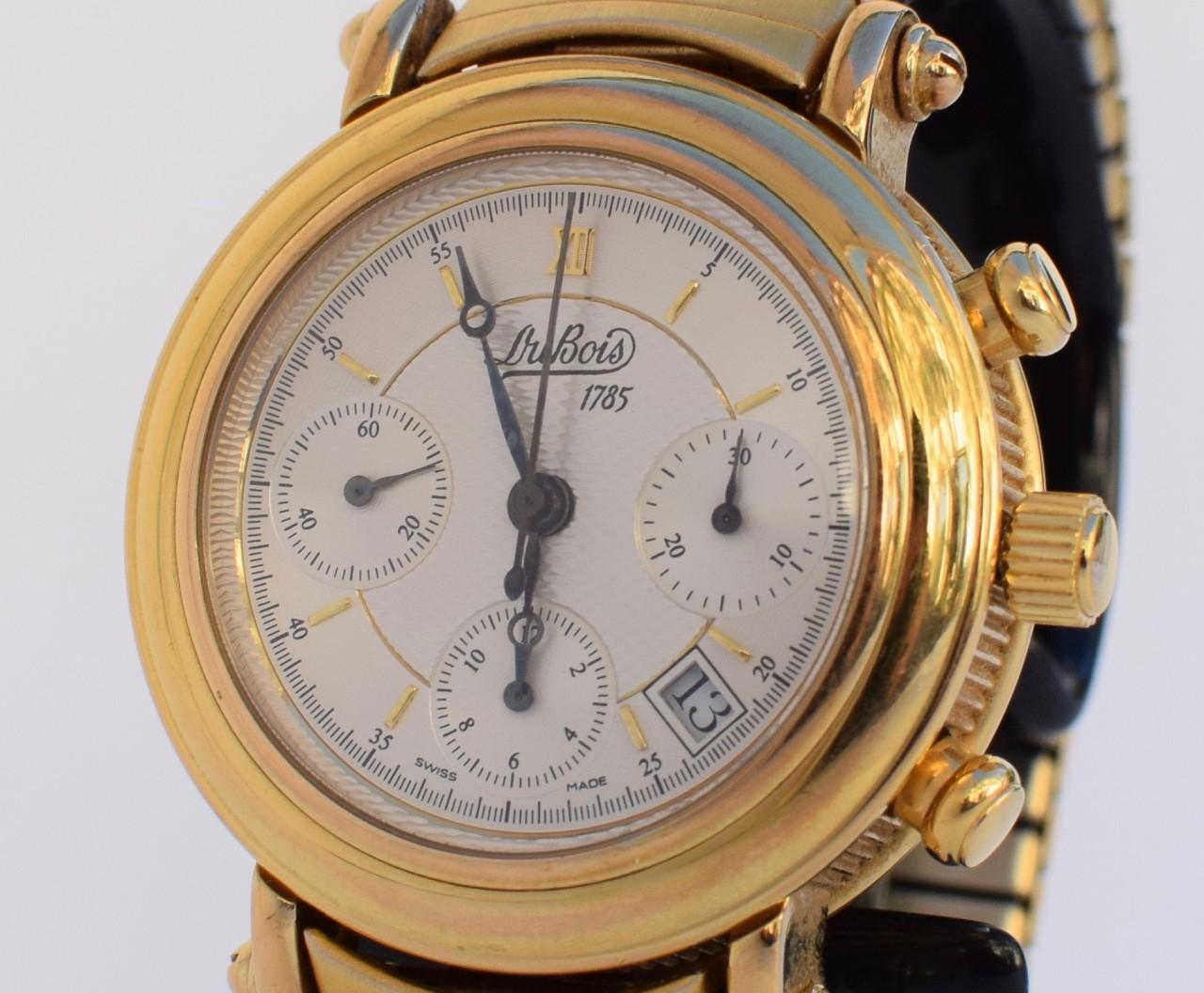 5eb49f2e0f Mens DuBois 1785 Montre Monnaie Automatic Chronograph Watch | eBay
