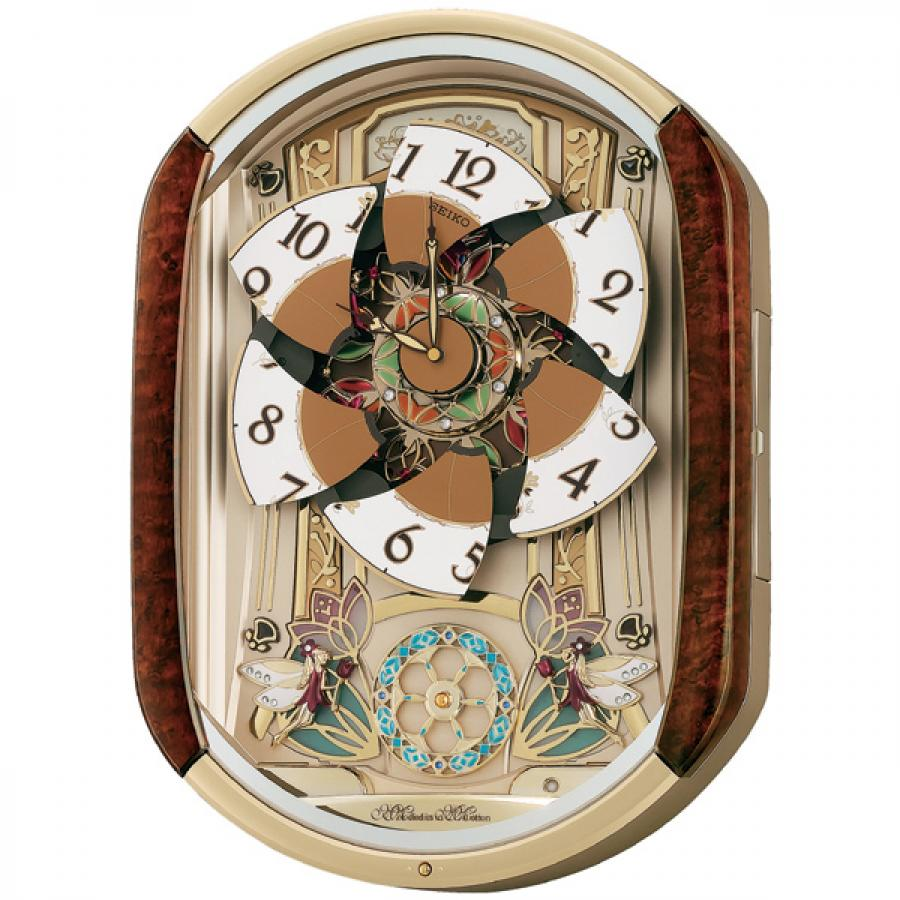 seiko stratton musical wall clock holiday melodies arlex